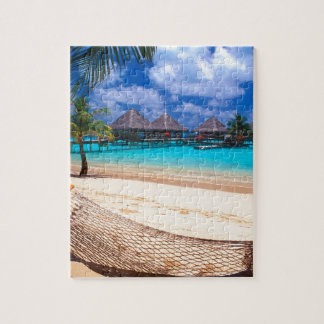 Tropical Island Of French Polynesia Jigsaw Puzzle