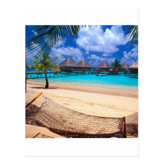 Tropical Island Of French Polynesia Postcard