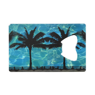 Tropical Island Palm Tree Bottle Opener