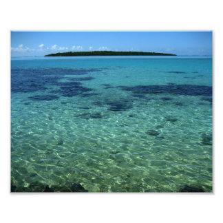 Tropical Island Paradise Photo Print