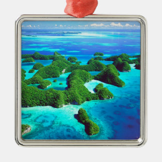 Tropical Island Republic Palau Christmas Ornament
