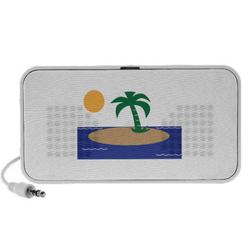 Tropical Island PC Speakers