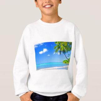 Tropical island sweatshirt