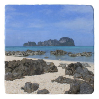 Tropical island trivet