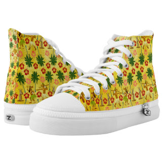 Tropical Island Unicorn High Tops