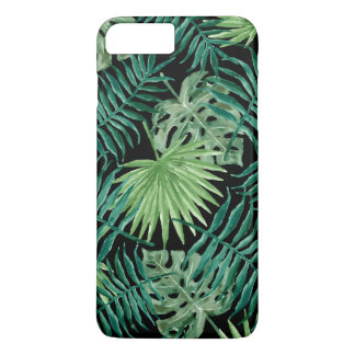 Tropical Island Watercolor Leaves Phone Case