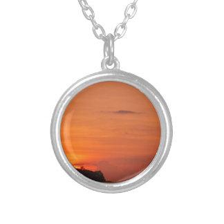 Tropical Islands Round Pendant Necklace