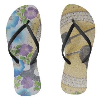 Tropical joy 1 flip flops