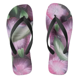 Tropical joy 2 flip flops