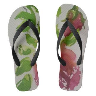 Tropical joy 3 flip flops