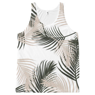Tropical Jungle All-Over Print Tank Top