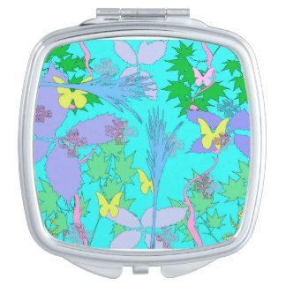 Tropical Jungle Compact Mirror
