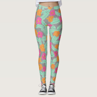 Tropical Jungle Leggings
