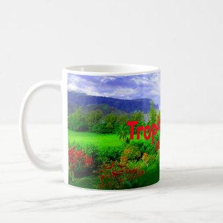 Tropical Kauai Hawaiian Island Coffee Mug