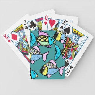 Tropical Koi Go Fish Festive & Fun Playing Cards