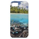 Tropical Lagoon in South Ari Atoll in the