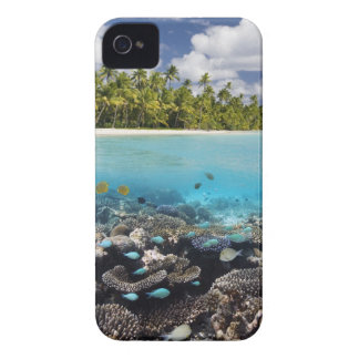 Tropical Lagoon in South Ari Atoll in the iPhone 4 Case