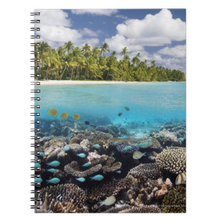 Tropical Lagoon in South Ari Atoll in the Spiral Notebook