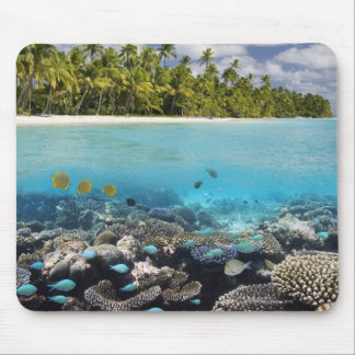 Tropical Lagoon in South Ari Atoll Mouse Mat