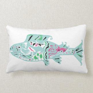 Tropical Lagoon Spirit Throw Cushions