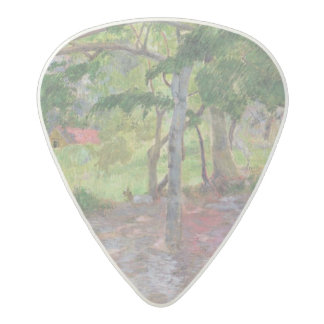 Tropical Landscape, Martinique, 1887 Acetal Guitar Pick