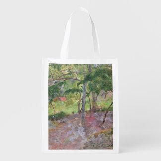 Tropical Landscape, Martinique, 1887 Grocery Bags