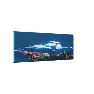 Tropical Landscape/Seascape Canvas Print