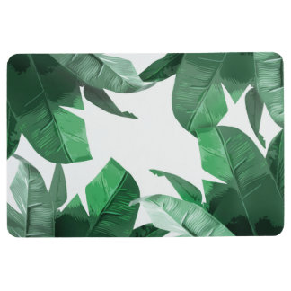 Tropical Leaf Floor Mat