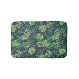 Tropical Leaf Jungle   Bath Mat