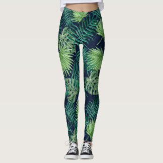Tropical Leaf Jungle | Leggings