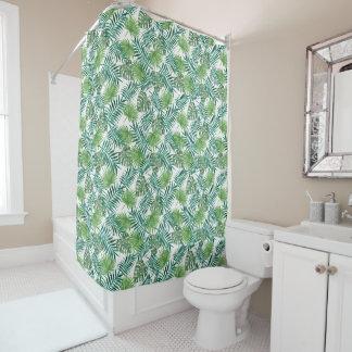 Tropical Leaf Jungle | Shower Curtain