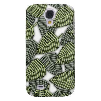 Tropical Leaf Pern. Galaxy S4 Case