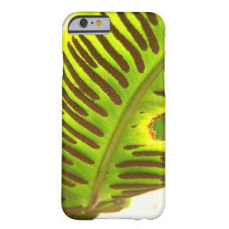 Tropical leaf phone case