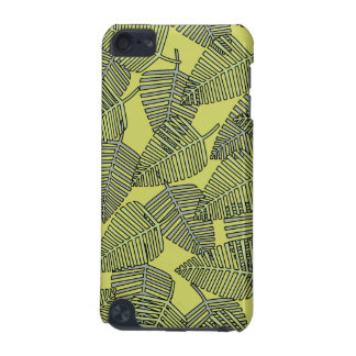 Tropical Leaves in Green Colors. iPod Touch 5G Case