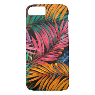 Tropical leaves iPhone 8/7 case