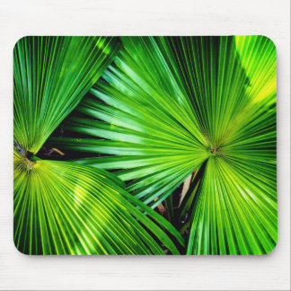 Tropical Leaves Mouse Mat