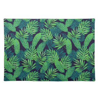 Tropical Leaves Pattern Placemat
