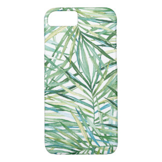 Tropical Leaves Watercolor iPhone 8/7 Case