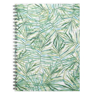 Tropical Leaves Watercolor Notebooks