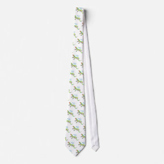 Tropical Lizard Tie