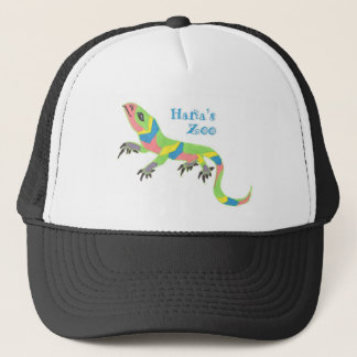 Tropical Lizard Trucker Hat