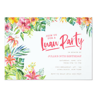 Luau Invites is great invitation template