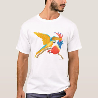 Tropical Macaw Parrots T Shirt