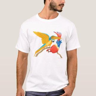 Tropical Macaw Parrots T Shirt