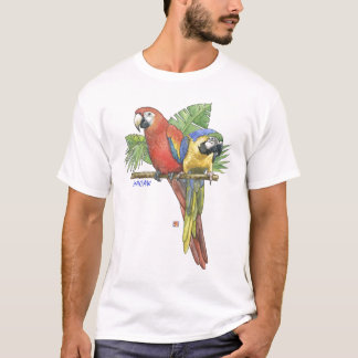 Tropical Macaws T-Shirt