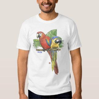 Tropical Macaws Tees