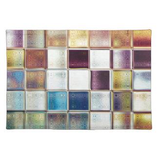 Tropical Memories Mosaic Tile Art Placemat