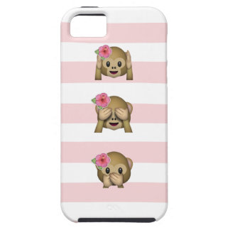 Tropical Monkey Emoji iPhone 5 Covers