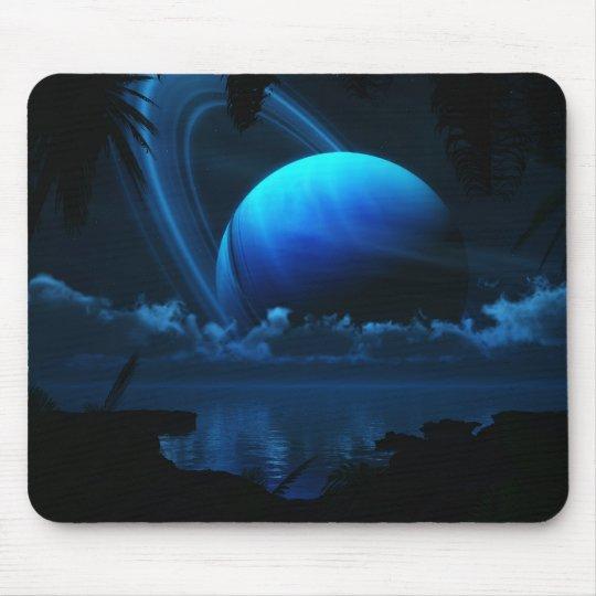 Tropical Moon Mousepad