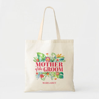 Tropical | Mother of the Groom Destination Wedding Tote Bag